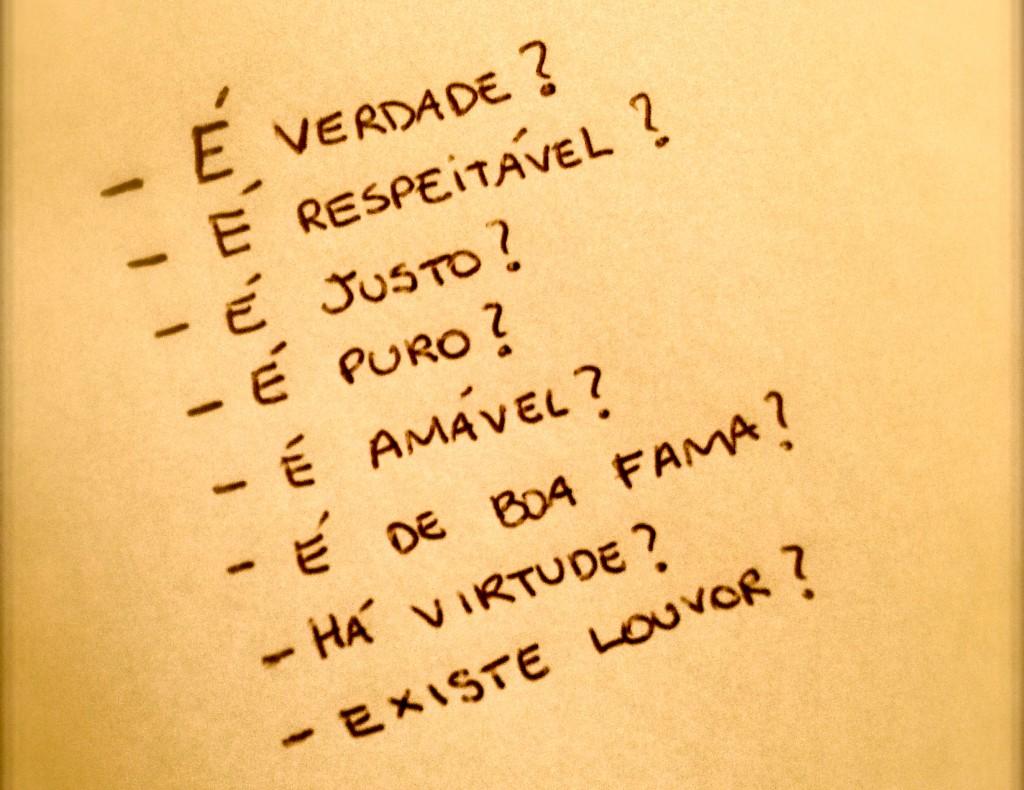 Meu checklist